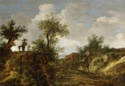 Landscape with Figures | Pieter de Molijn | Oil Painting