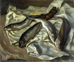 Still Life of Fish   Roger Eliot Fry   Oil Painting