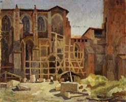 The Church of St Etienne | Roger Eliot Fry | Oil Painting