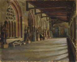The Cloister | Roger Eliot Fry | Oil Painting