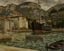 The Port of Cassis | Roger Eliot Fry | Oil Painting