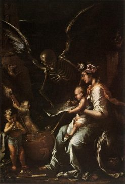 Human Fragility | Salvator Rosa | Oil Painting