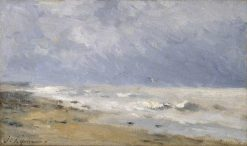 The Coast of Normandy | Stanislas LEpine | Oil Painting