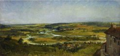 Panoramic Landscape | ThEodore Rousseau | Oil Painting