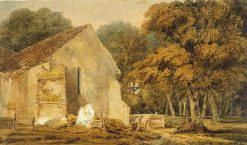 A Country Churchyard | Thomas Girtin | Oil Painting