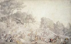 Greenwich Hill | Thomas Rowlandson | Oil Painting