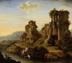 Landscape with Nymphs | Willem van Mieris | Oil Painting