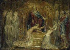 The Judgement of Solomon   William Blake   Oil Painting