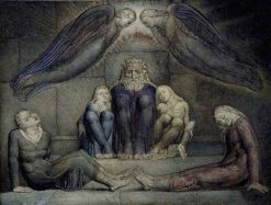 Ugolino and His Sons in Prison | William Blake | Oil Painting