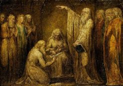 The Circumcision   William Blake   Oil Painting