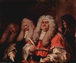 The Bench | William Hogarth | Oil Painting