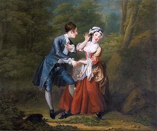 Before (outdoor) | William Hogarth | Oil Painting