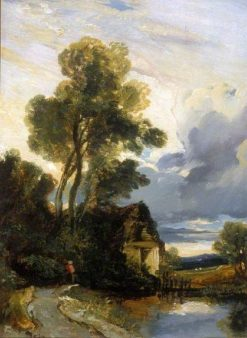Landscape with a Cottage | William James Muller | Oil Painting