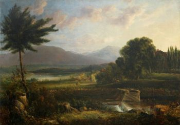 New Hampshire Scene   George Loring Brown   Oil Painting