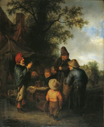 The Meeting | Adriaen van Ostade | Oil Painting