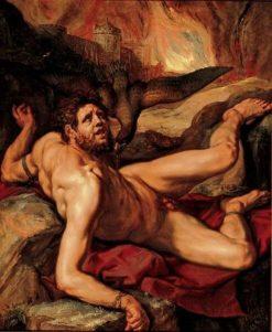Tityus | Hendrick Goltzius | Oil Painting