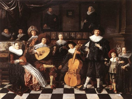 Portrait of the Painter's Family | Jan Miense Molenaer | Oil Painting