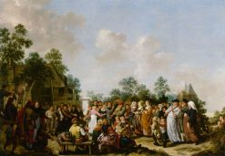 Peasant Wedding | Jan Miense Molenaer | Oil Painting