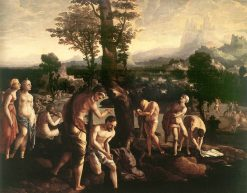 Baptism of Christ | Jan van Scorel | Oil Painting