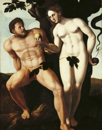 Adam and Eve | Jan van Scorel | Oil Painting