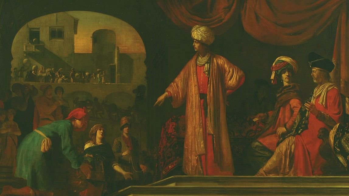 Joseph Receives His Brothers in Egypt | Job Adriaensz. Berckheyde | Oil Painting