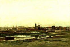 Dieppe | Charles Francois Daubigny | Oil Painting