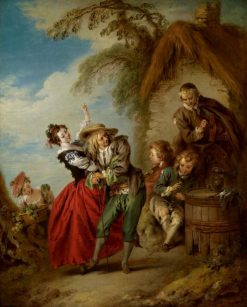 The Village Orchestra | Jean Baptiste Pater | Oil Painting
