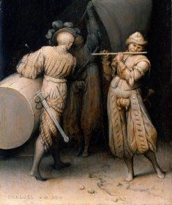 Three Soldiers | Pieter Bruegel the Elder | Oil Painting