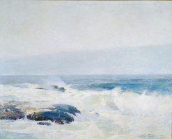 Surf Breaking | Emil Soren Emil Carlsen | Oil Painting