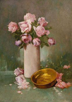 Roses | Emil Soren Emil Carlsen | Oil Painting