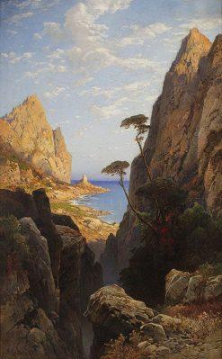 View of Corsica | Hermann David Solomon Corrodi | Oil Painting