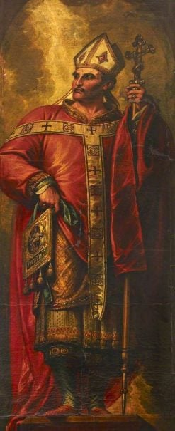 Thomas a Becket (c.1118-1170) | Benjamin West | Oil Painting