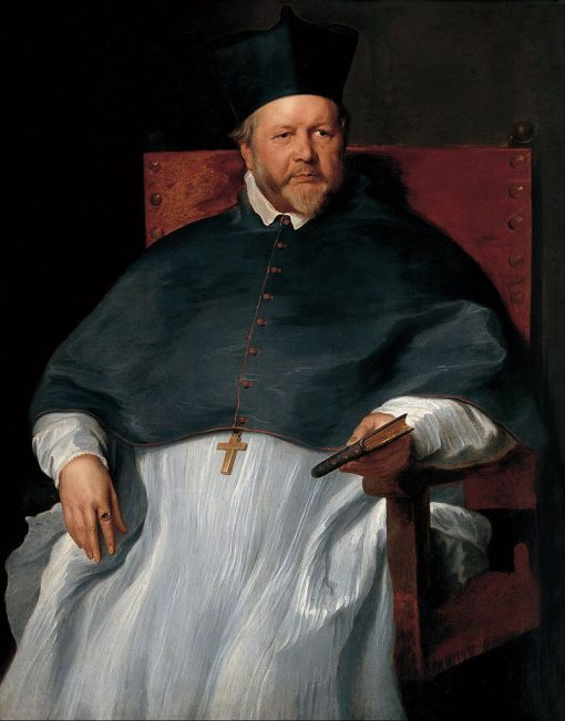 Bishop Jan van Malderen | Anthony van Dyck | Oil Painting