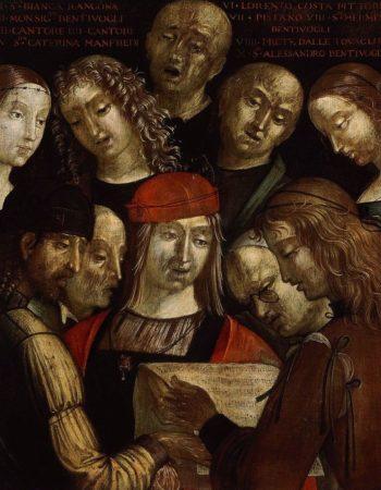 The Bentivoglio Family | Lorenzo Costa | Oil Painting
