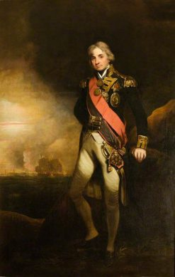 Horatio First Viscount Nelson (1758-1805) | John Hoppner | Oil Painting