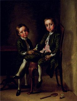 Portrait of Two Boys | Francis Hayman | Oil Painting
