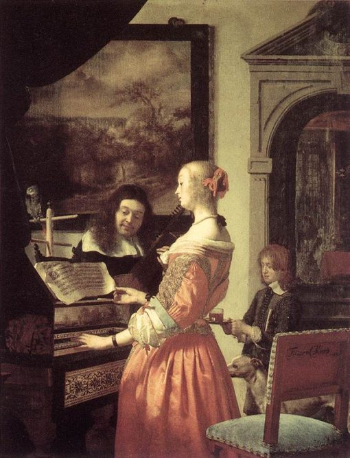 Duet | Frans van Mieris the Elder | Oil Painting