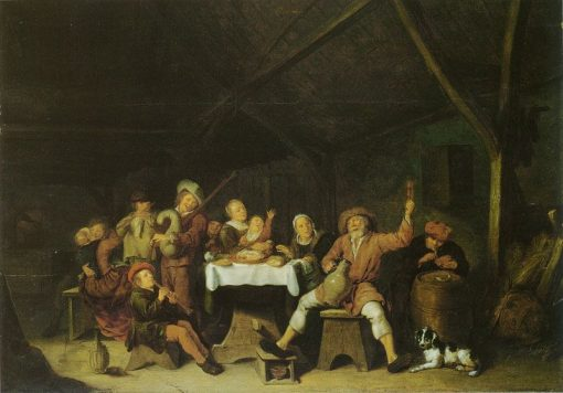 Merry Peasants | Jan Miense Molenaer | Oil Painting
