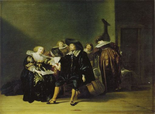 Merry Company | Pieter Codde | Oil Painting