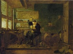 The Shoemaker | Quiringh van Brekelenkam | Oil Painting