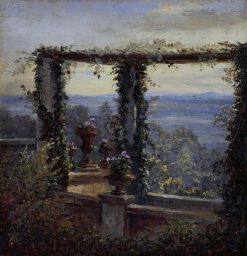 Ausblick in Hosterwitz | Carl Gustav Carus | Oil Painting