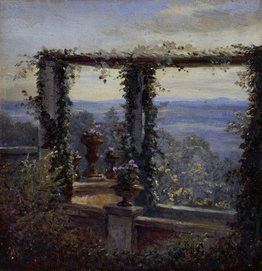 Ausblick in Hosterwitz | Carl Gustav Carus | Oil Painting