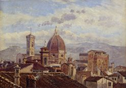 View of Florence | Carl Gustav Carus | Oil Painting