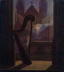 Music   Carl Gustav Carus   Oil Painting