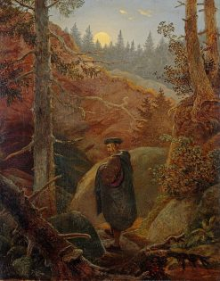 Faust in the Mountains | Carl Gustav Carus | Oil Painting