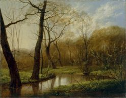 Woodland Stream | Carl Gustav Carus | Oil Painting