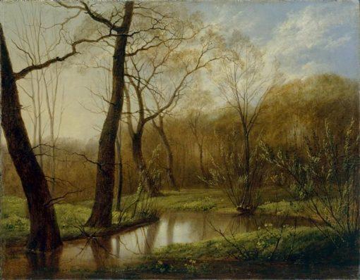 Woodland Stream | Carl Gustav Carus | Oil Painting