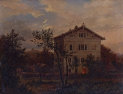 Carus House in Pillnitz | Carl Gustav Carus | Oil Painting