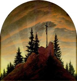 The Cross in the Mountains | Caspar David Friedrich | Oil Painting
