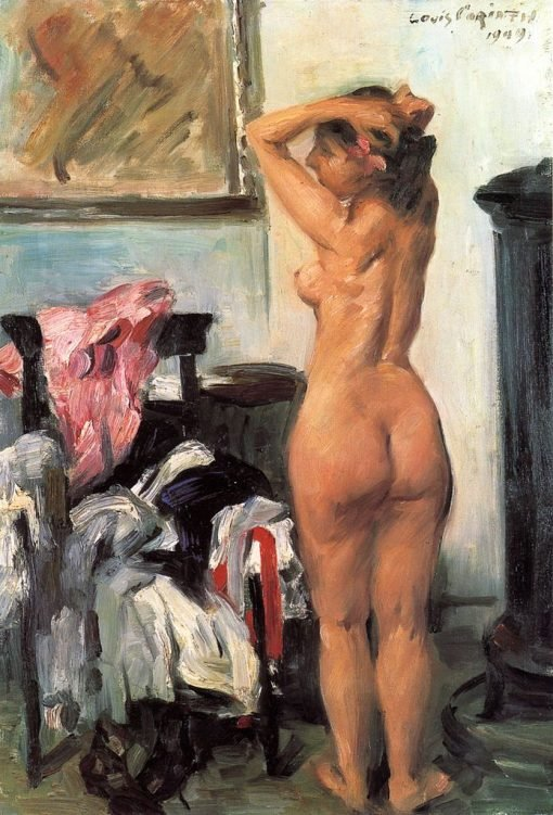 Modellpause | Lovis Corinth | Oil Painting